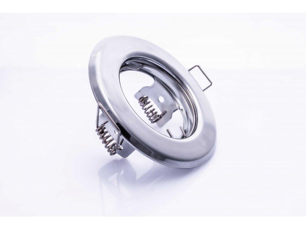 Bodové svietidlo okrúhle pevné lesklý chróm ARGUS CT-2114-C 00301