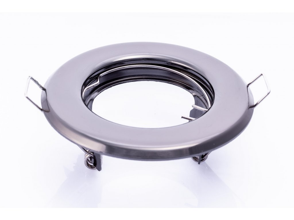 Bodové svietidlo okrúhle pevné čierny chróm ARGUS CT-2114-GM 00328