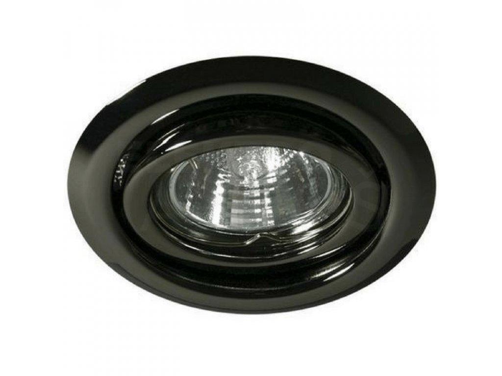Bodové svietidlo okrúhle výklopné čierny chróm ARGUS CT-2115-GM 00334