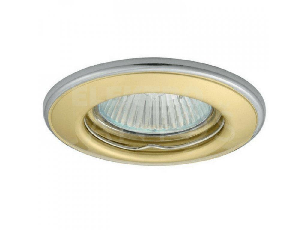 Bodové svietidlo okrúhle pevné perleťovo zlaté/nikel HORN CTC-3114-PG/N 02823