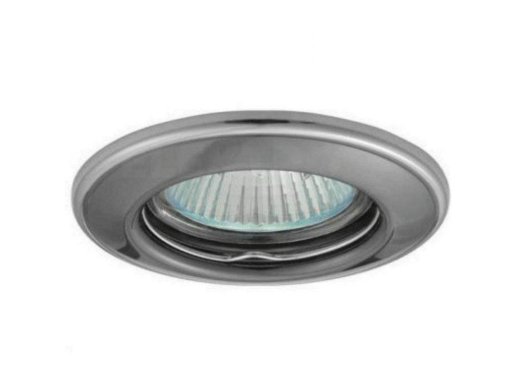 Bodové svietidlo okrúhle pevné čierny chróm/nikel HORN CTC-3114-GM/N 02824