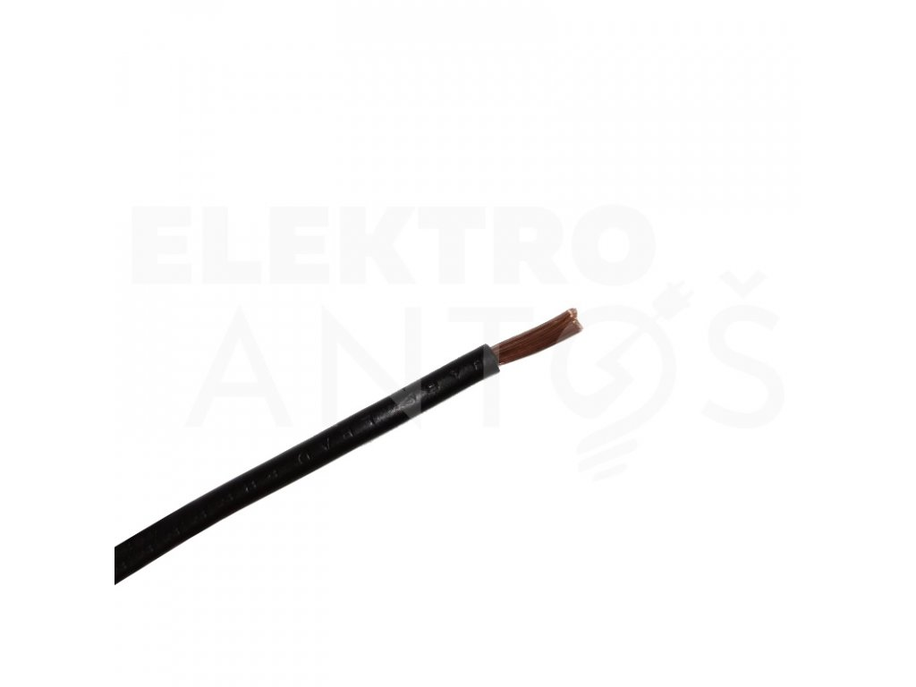 Kábel CGZ H01 N2-D 25mm - zvárací kábel