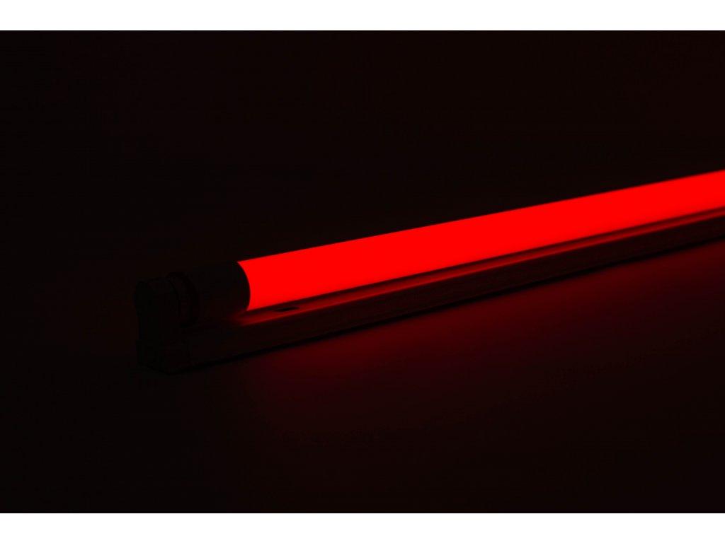 Červená trubica LED T8 20W 120cm obojstranné napájanie AN22