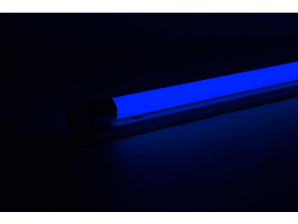 Modrá trubica LED T8 20W 120cm obojstranné napájanie AN24