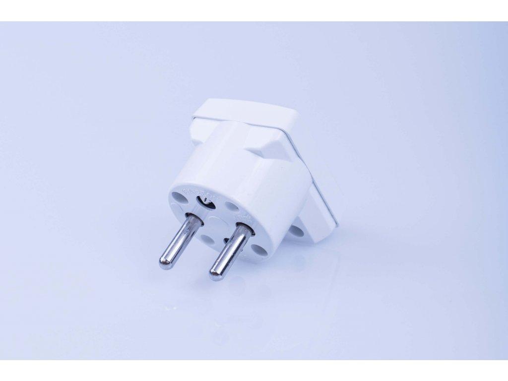 Lomená vidlica PVC 16A/250V biela 5536-2154 ABB