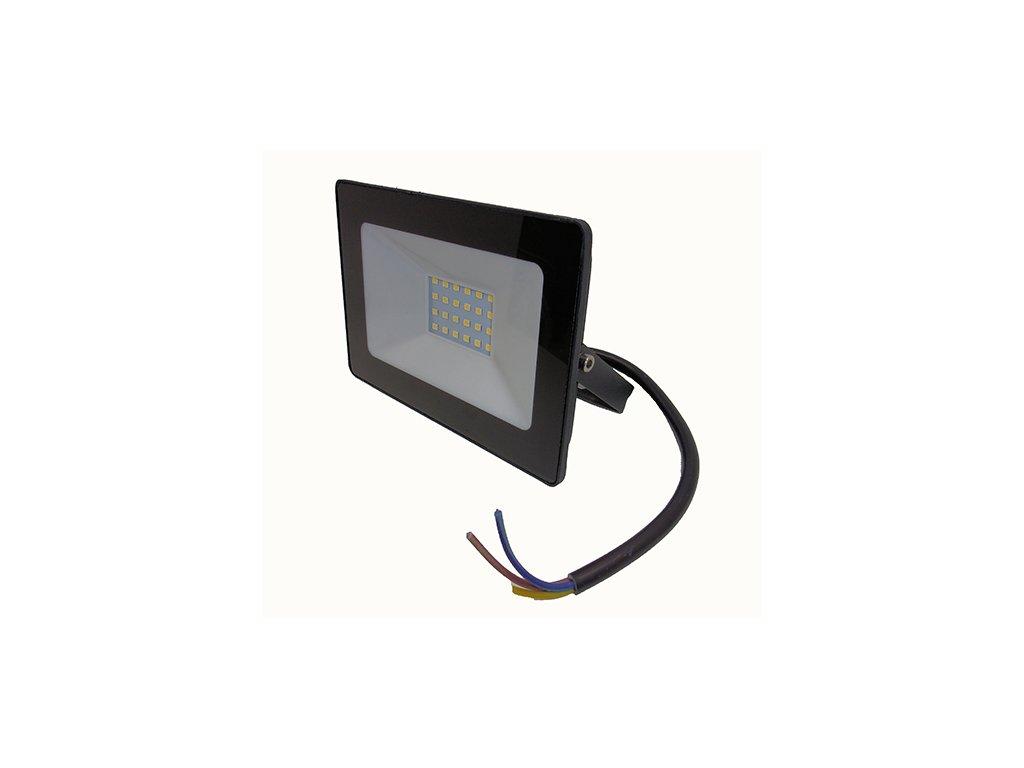 Reflektor SMD LED 20W - čierny 4500K 0661