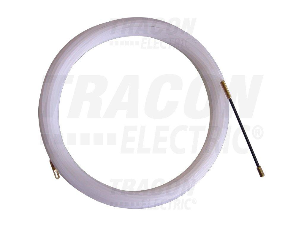 Preťahovacia struna plastová s oceľovou hlavicou L=10m d=3mm
