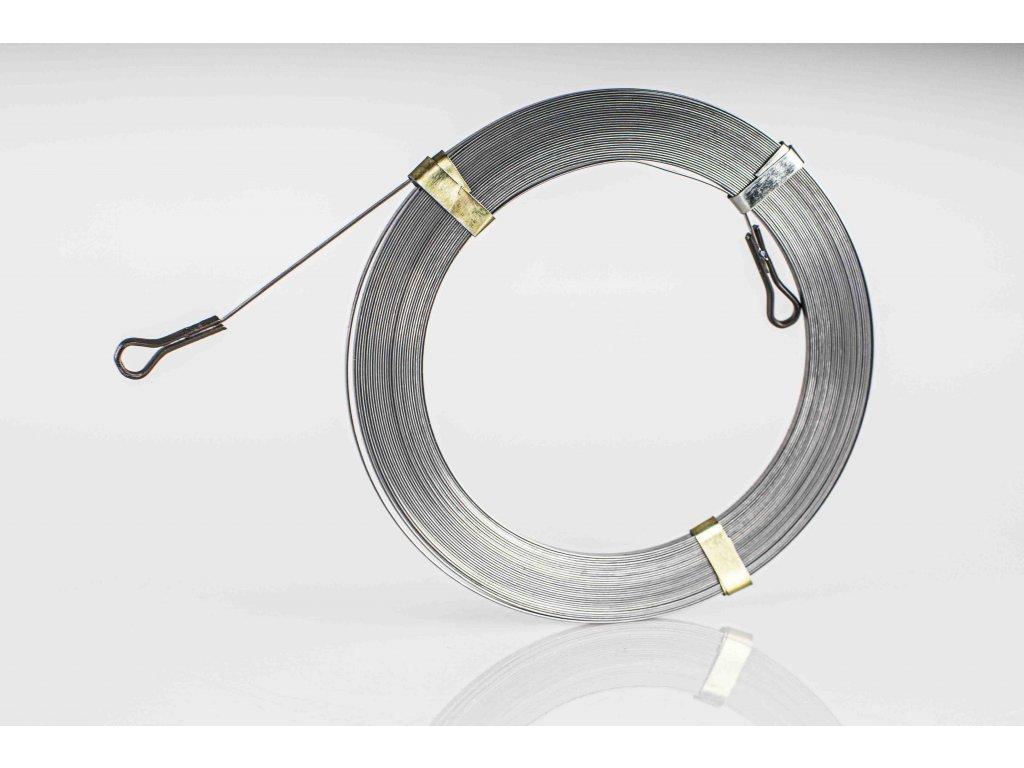 Preťahovacia struna oceľová plochá L=5m d=3,2mm