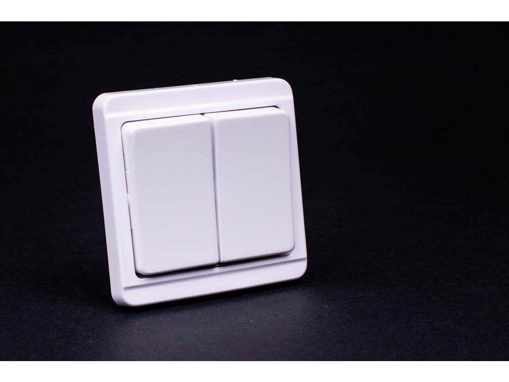 Vypínač č.5 Štandard biely 4FN57502.2101 Tesla