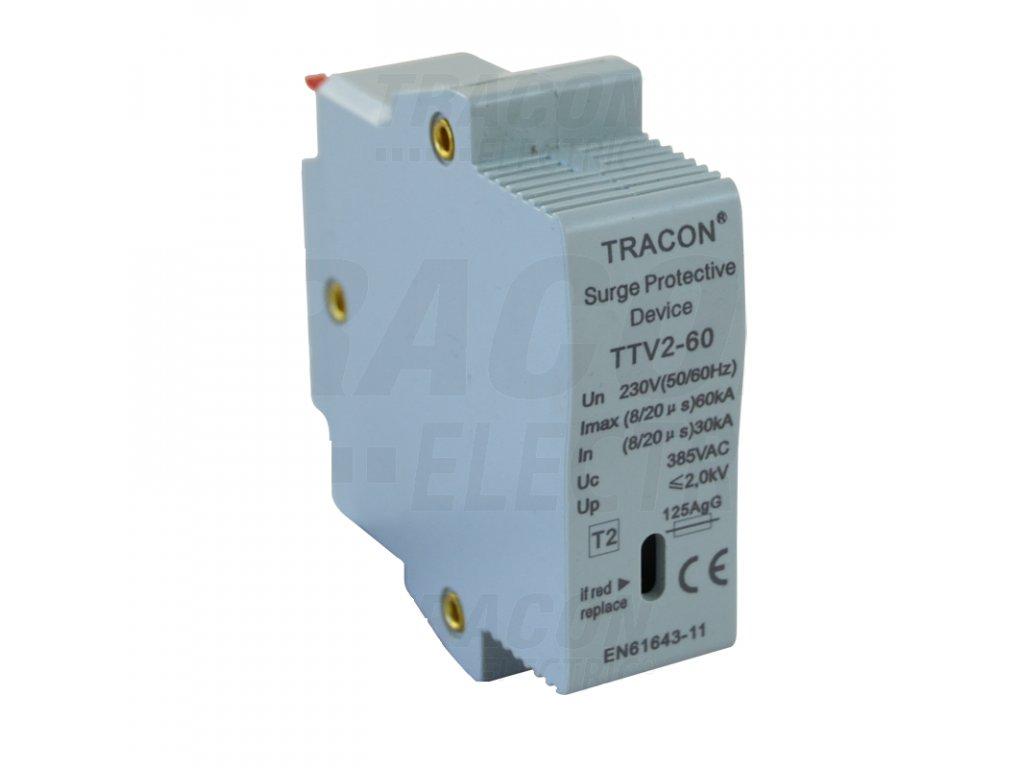Vložka do zvodiča prepätia AC typ 2 230V 30/60kA 1P