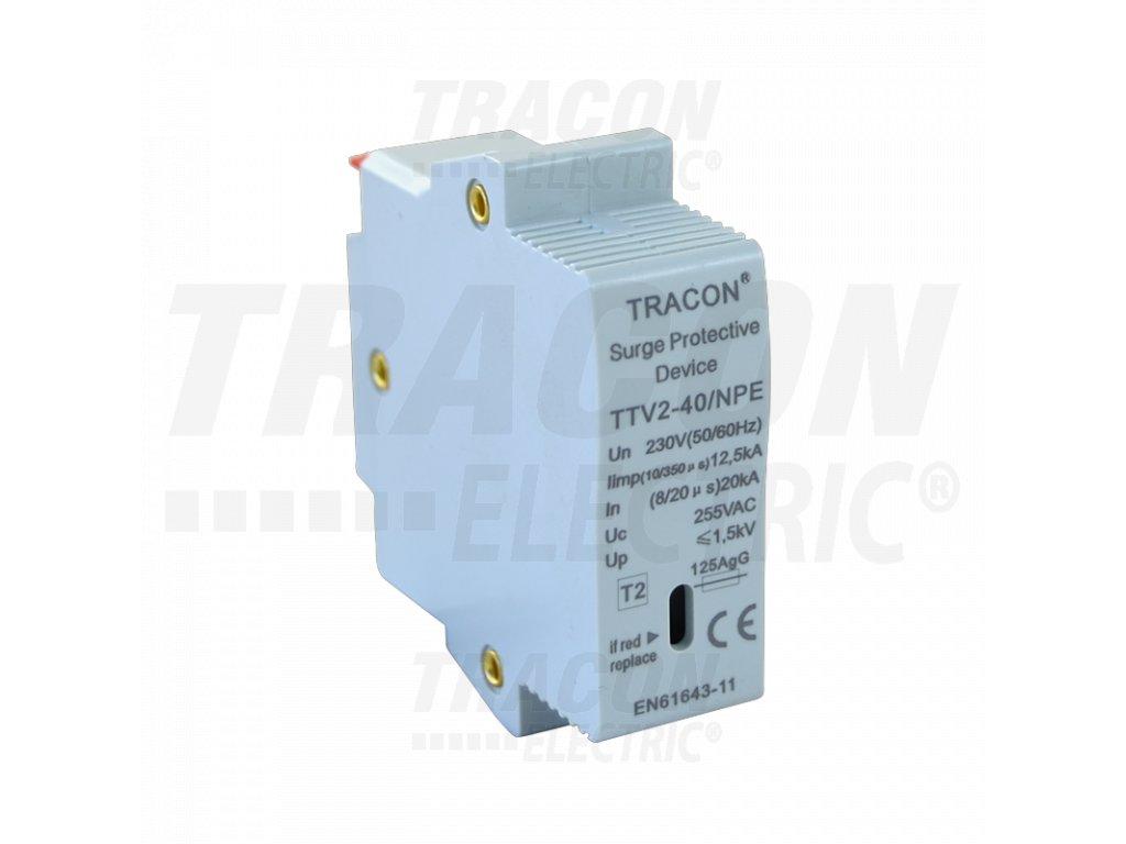 Vložka do zvodiča prepätia AC typ 2 230V 20/40kA N/PE