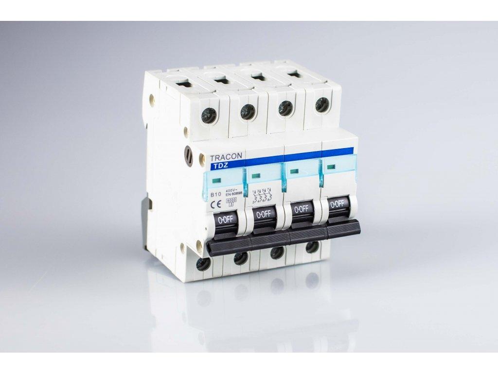 Istič 4A/3P C 10kA TDA-3C-4 Tracon