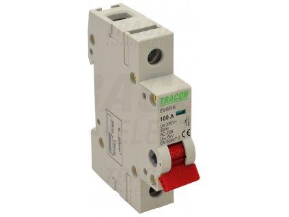 Modulárny vypínač 1P 20A TIK1-20 Tracon