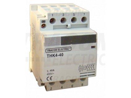 Modulárny stykač 4P 63A 230/400V 2xNO+2xNC 24V AC THK4-63-24