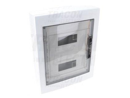 Rozvodná skriňa na povrch 24 (2x12) IP40 EDFKS-12/2