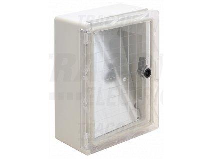 Rozvodná skriňa na povrch prázdna 210x280x130mm IP65 TME282113T