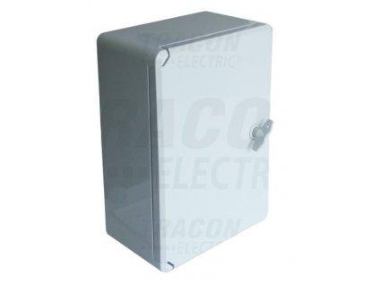 Rozvodná skriňa na povrch prázdna 250x330x130mm IP65 TME332513