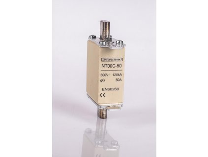 Nožová poistka 100A 500V AC gG NT00-100