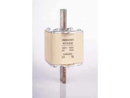 Nožová poistka 500A 500V AC gG NT3-500