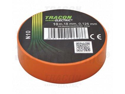 Izolačná páska oranžová 10m×18mm