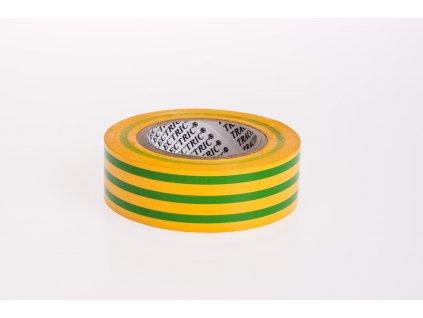 Izolačná páska žlto-zelená 10m×18mm