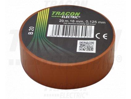 Izolačná páska hnedá 20m×18mm
