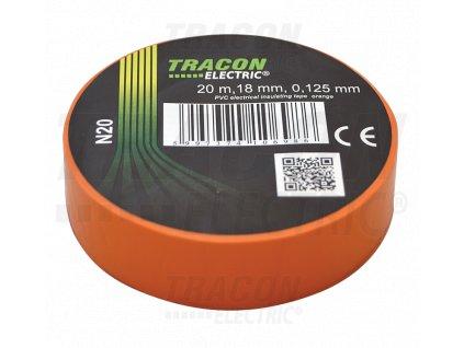 Izolačná páska oranžová 20m×18mm