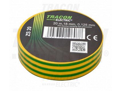 Izolačná páska žlto-zelená 20m×18mm