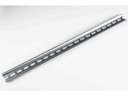 Montážna DIN lišta 35/0,5P perforovaná 500mm