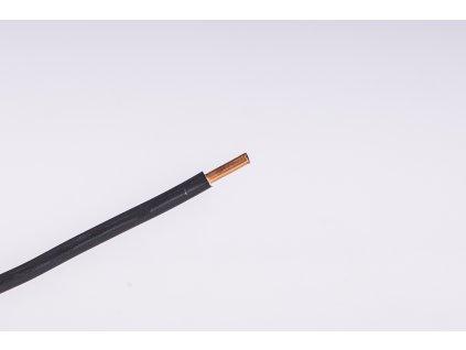 Vodič CY 4mm2 čierny pevný Draka kabely