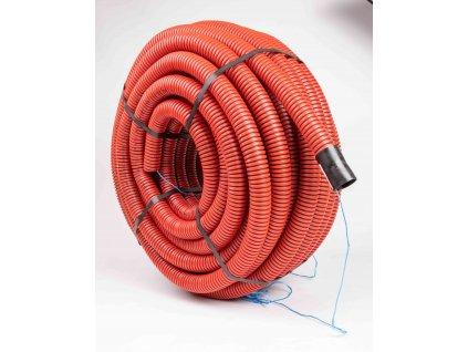 Červená chránička na káble do zeme 40mm - Kopoflex BA 09040 450N balenie