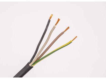 Kábel CGSG 4x2,5 H05RR-F