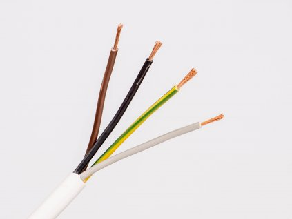 Kábel CYSY 4x0,75 H05VV-F