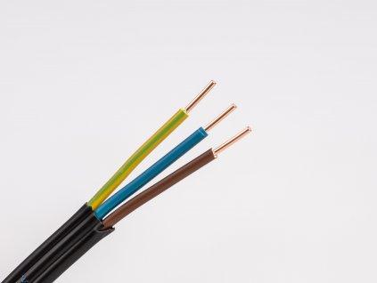 zasuvkovy plochy medeny kabel do panelov cykylo-j 3x2,5