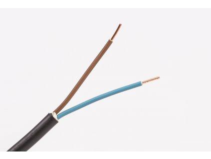 okruhly medeny kabel cyky-o 2x1,5