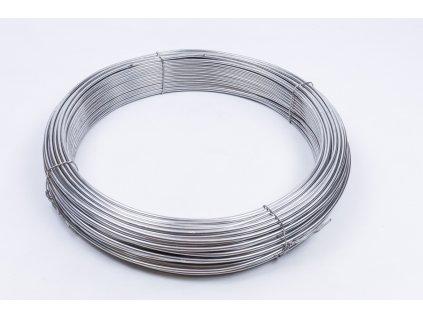 AlMgSi ø8 hliníkový bleskozvodový drôt guľatina 1kg=cca 7,4m balenie