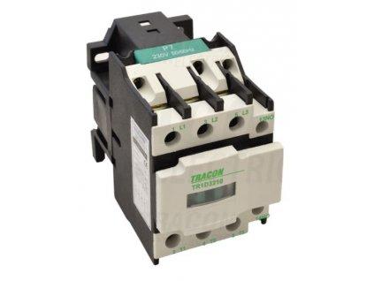 Stykač 9A cievka 230V AC 3xNO+1xNC TR1D0901 Tracon