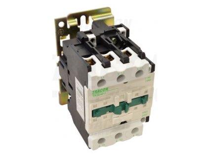 Stykač 50A cievka 400V AC 3xNO+(1xNO+1xNC) TR1D5011V7 Tracon