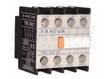 Blok čelných pomocných kontaktov k stykačom TR1D/F a TR1E 230V, 50Hz, 2A, 4×NO