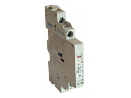 Signálny kontakt preťaženia + pomocný kontakt k TGV2 1xNO+1xNC TGV2-D1010
