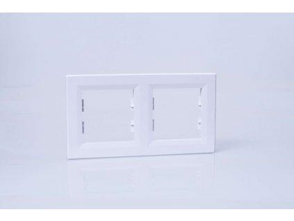 2-rámček Asfora vodorovný biely EPH5800221
