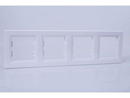 4-rámček Asfora vodorovný biely EPH5800421