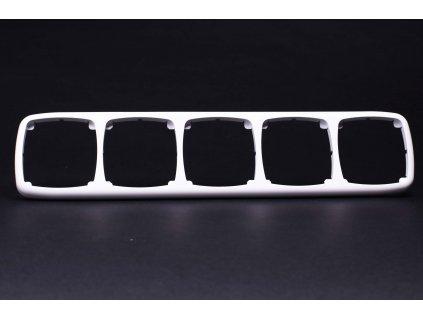 5-rámček Modul vodorovný biely 4FA12737.901 Tesla