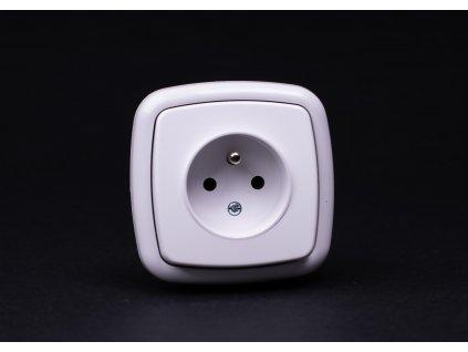 1-zásuvka Modul biela 4FN15050.901