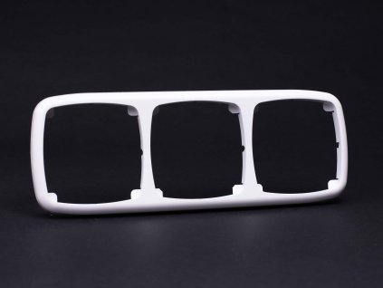 3-rámček Modul vodorovný biely 4FA12729.901 Tesla