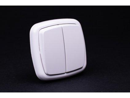 Vypínač č.5 Modul biely 4FN57572.901 Tesla