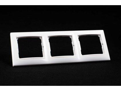 3-rámček VALENA zvislý/vodorovný biely 774453 Legrand
