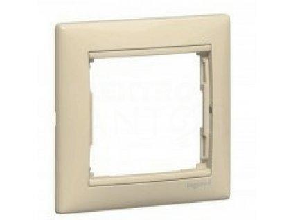 1-rámček VALENA krémový 774351 Legrand