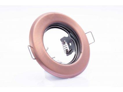 Bodové svietidlo okrúhle pevné medené ARGUS CT-2114-AN 00327