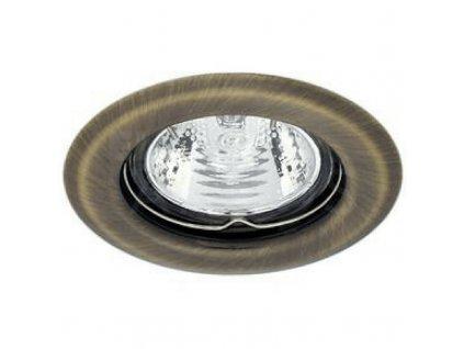 Bodové svietidlo okrúhle pevné matná mosadz ARGUS CT-2114-BR/M 00324